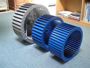 niskopritisni ventilator